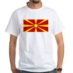 Macedonia White T-Shirt