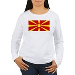 Macedonia Women's Long Sleeve T-Shirt