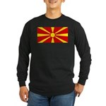 Macedonia Long Sleeve Dark T-Shirt