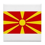 Macedonia Tile Coaster