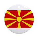 Macedonia Ornament (Round)