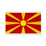 Macedonia Rectangle Magnet (100 pack)