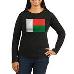 Madagascar Women's Long Sleeve Dark T-Shirt