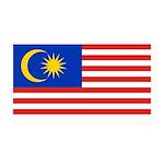 Malaysia 38.5 x 24.5 Wall Peel
