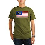 Malaysia Organic Men's T-Shirt (dark)