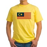 Malaysia Yellow T-Shirt