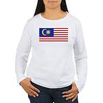 Malaysia Women's Long Sleeve T-Shirt