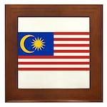 Malaysia Framed Tile