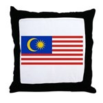 Malaysia Throw Pillow