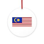 Malaysia Ornament (Round)