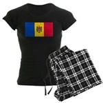 Moldova Women's Dark Pajamas