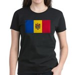 Moldova Women's Dark T-Shirt