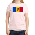 Moldova Women's Light T-Shirt