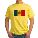 Moldova Yellow T-Shirt