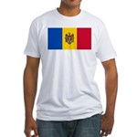 Moldova Fitted T-Shirt