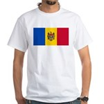 Moldova White T-Shirt