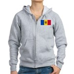 Moldova Women's Zip Hoodie