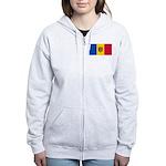 Moldova Women's Zip Hoodie