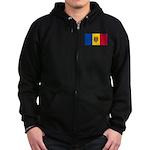 Moldova Zip Hoodie (dark)
