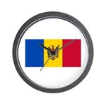 Moldova Wall Clock