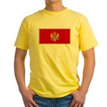 Montenegro Yellow T-Shirt