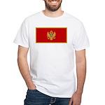 Montenegro White T-Shirt