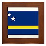 Curaçao Framed Tile