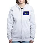 Sint Eustatius Women's Zip Hoodie