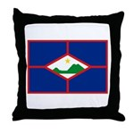 Sint Eustatius Throw Pillow