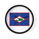 Sint Eustatius Wall Clock