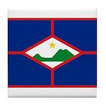 Sint Eustatius Tile Coaster