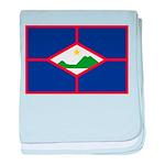 Sint Eustatius baby blanket