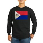 Sint Maarten Long Sleeve Dark T-Shirt