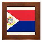 Sint Maarten Framed Tile