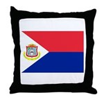 Sint Maarten Throw Pillow