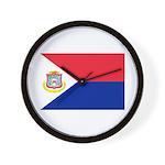 Sint Maarten Wall Clock