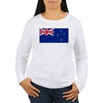 New Zealand Women's Long Sleeve T-Shirt