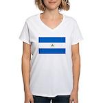 Nicaragua Women's V-Neck T-Shirt