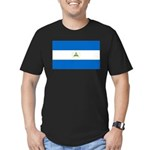 Nicaragua Men's Fitted T-Shirt (dark)