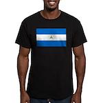 Nicaragua Men's Fitted T-Shirt (dark)