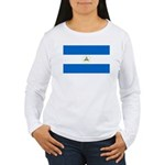 Nicaragua Women's Long Sleeve T-Shirt