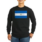 Nicaragua Long Sleeve Dark T-Shirt