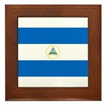Nicaragua Framed Tile