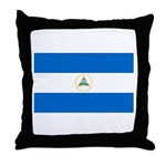 Nicaragua Throw Pillow