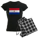 Paraguay Women's Dark Pajamas
