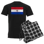 Paraguay Men's Dark Pajamas