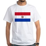 Paraguay White T-Shirt