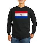 Paraguay Long Sleeve Dark T-Shirt