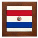 Paraguay Framed Tile