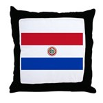 Paraguay Throw Pillow